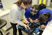 Engineering session for girls